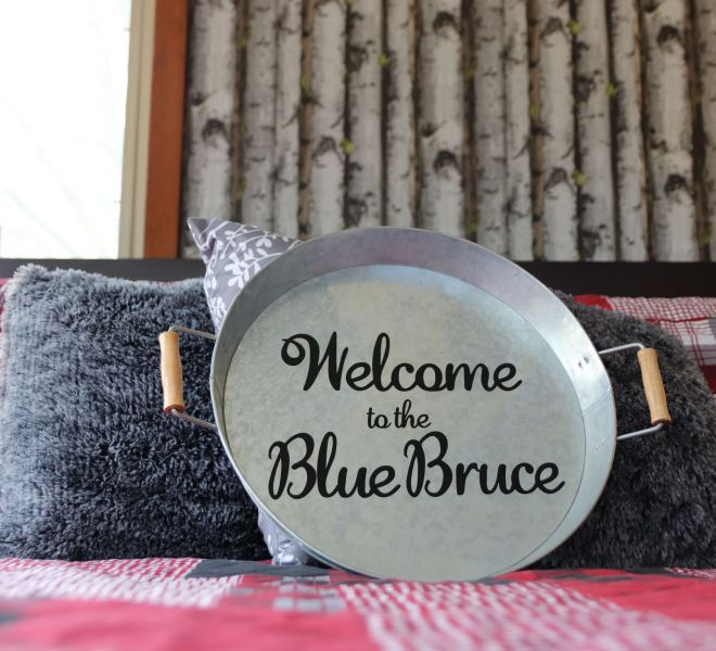 """The Blue Bruce - Bed & Breakfast """"The Cabin"""" Room Near St. Jacobs Ontario"""