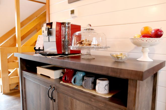Coffee, Tea and Chocolate Chip Cookies at The Blue Bruce - Weddings   Bed & Breakfast   Events Near St. Jacobs Ontario