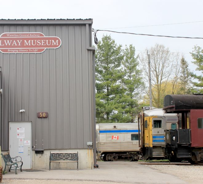 Stay at The Blue Bruce Bed & Breakfast & Enjoy St. Jacobs & the Surrounding Area. The Railway Museum is a Great Local Activity.